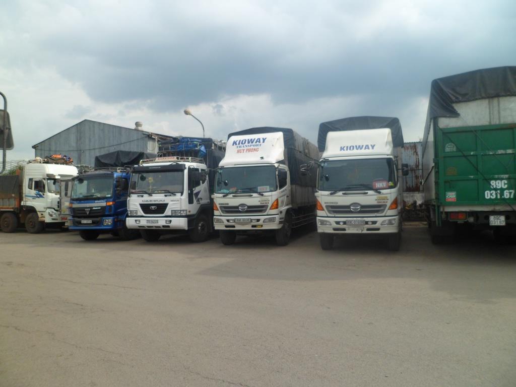 Cho thuê xe tải 15 tấn