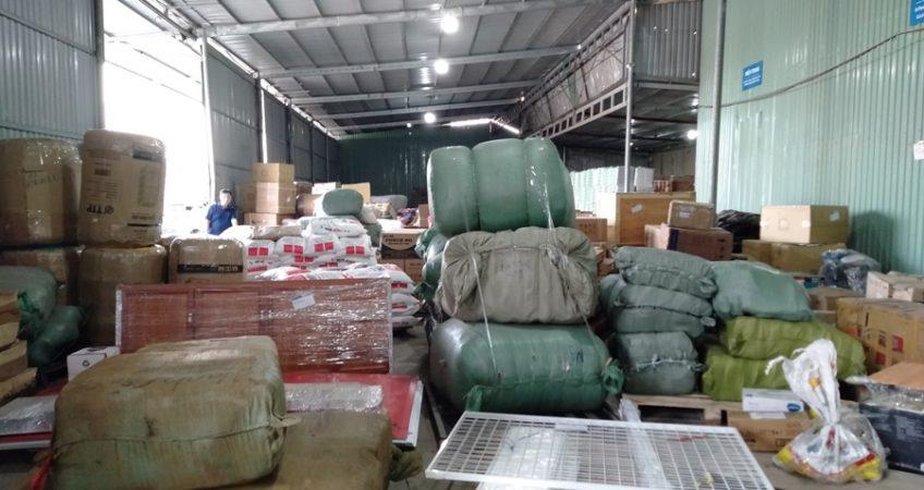 Vận chuyển hàng từ Sài Gòn đi KCN Thụy Vân