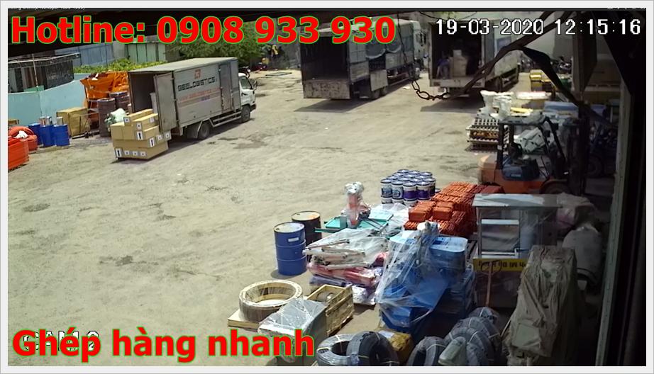 Chành xe ghép hàng Hồ Chí Minh Gia Lai